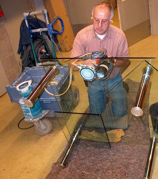glas krassen verwijderen